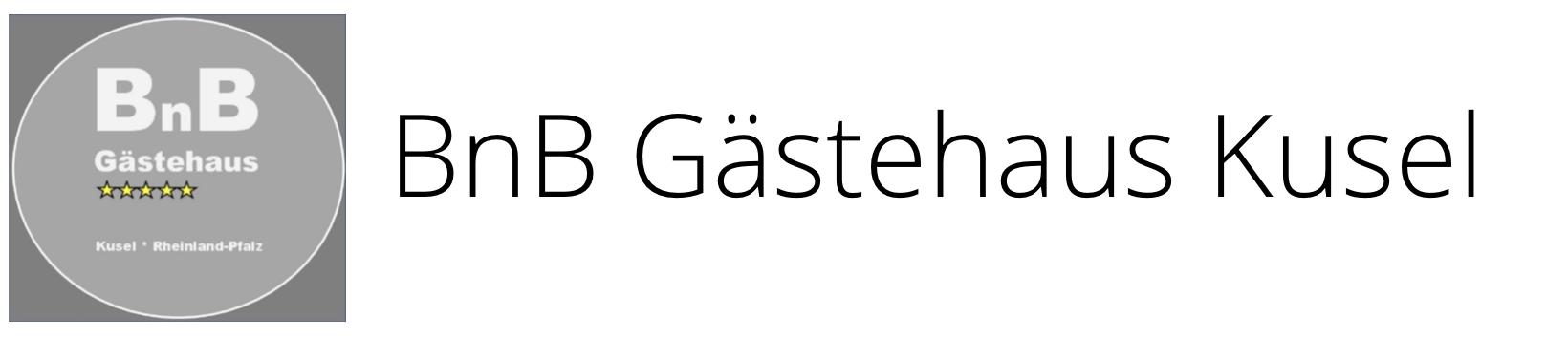 BnB Gästehaus Kusel Logo